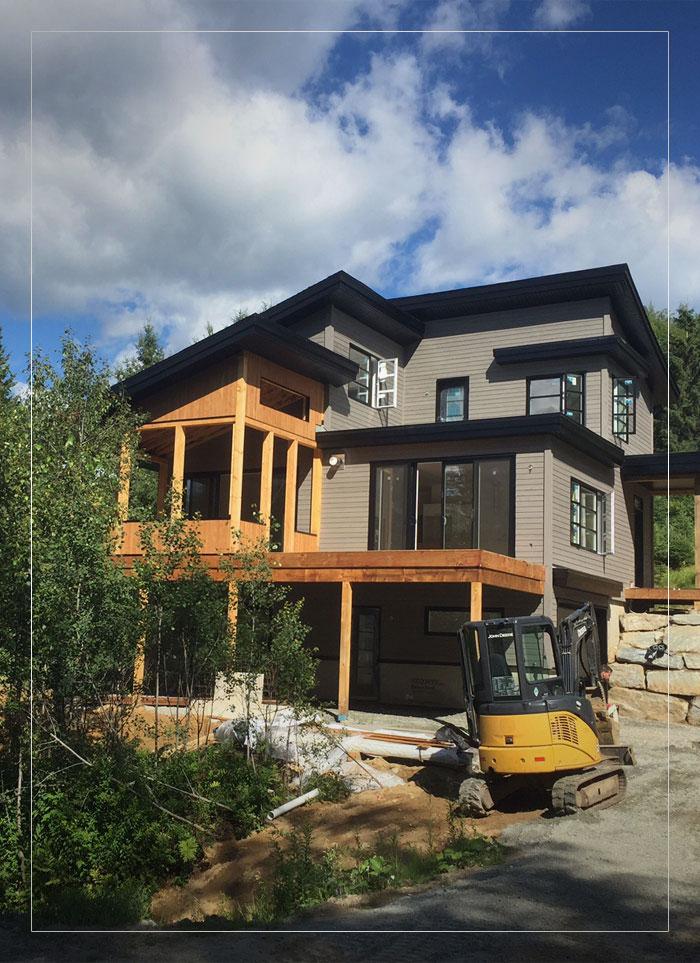 Construction CML - construction neuve de maison dans les Laurentides