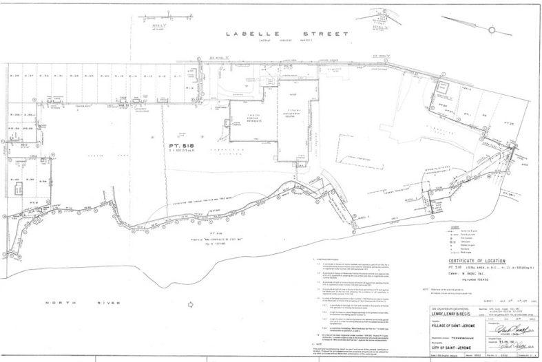 Terrain à développer rue Labelle, Saint-Jérôme