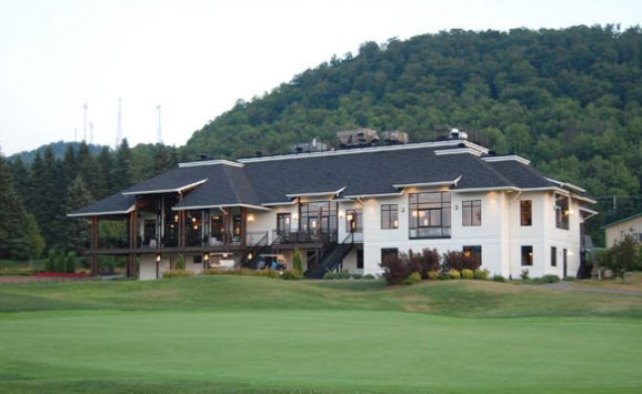 Construction CML : réalisation du Club House, Golf Val-Morin