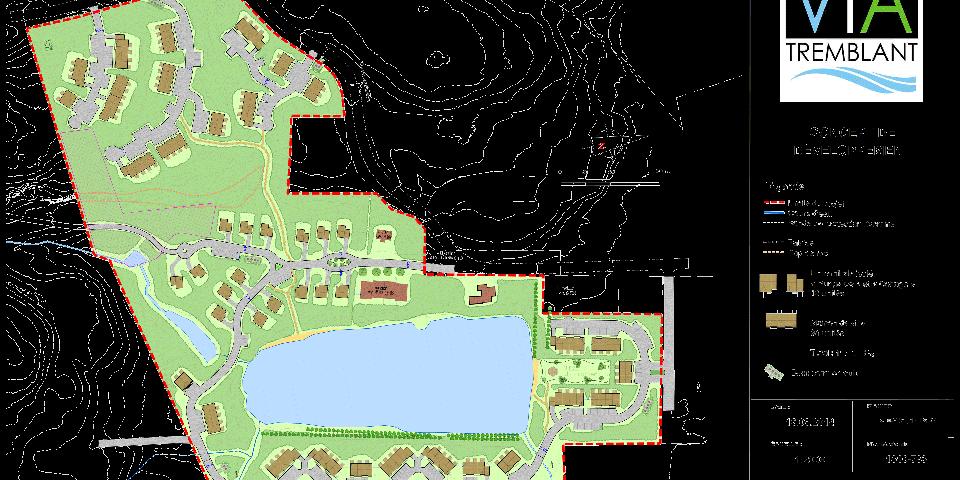 Projet domiciliaire intégré situé à Tremblant