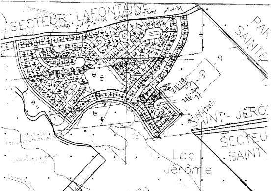 Terrain subdivisé à vendre, dans un beau secteur de Saint-Jérôme